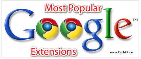 15 Most Popular Google Chrome Extension