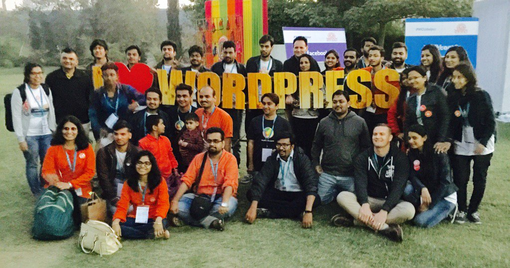 WordCamp Udaipur team